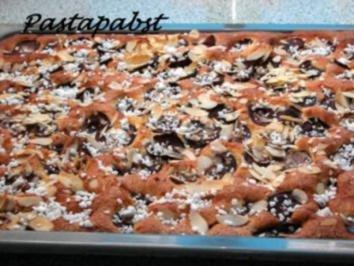 Pflaumen-Blech-Blitz-Kuchen - Rezept
