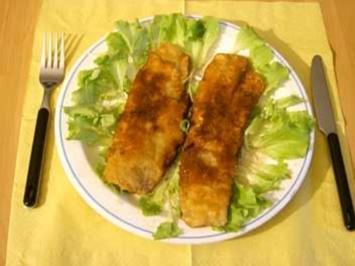 Fischfilet nach Wiener Art - Rezept