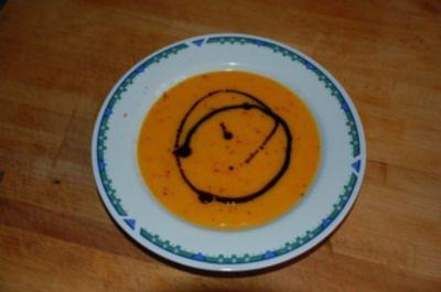 Kürbis-Kartoffel-Suppe - Rezept