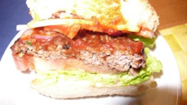 Pizzakatzes Classic American Burger - Rezept - Bild Nr. 2