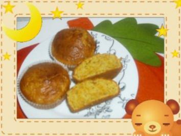 Kürbismuffins - Rezept
