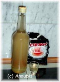 Angesetzter - Energy-Likör - Rezept