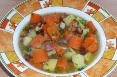 Eintopf: Kartoffel-Möhrentopf - Rezept
