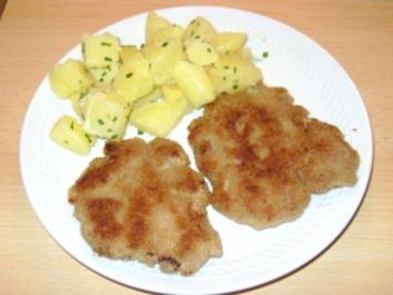 Rezept: Faschiertes Butterschnitzerl (Hackfleisch vom Kalb)