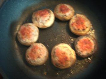 Rezept: gefüllte Champignons