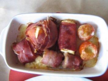 Rezept: Variationen mit Schafskäse und Schinken