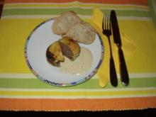 Brunchige Champignons - Rezept