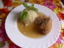 Hähnchenbrust in Sherry-Soja-Sauce - Rezept