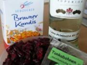 Cranberry-Likör mit Tonkabohne - Rezept