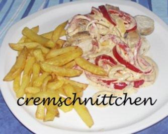 Hähnchenbrustfilet in Paprika-Käse- Soße - Rezept - Bild Nr. 2