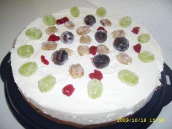 Trauben - Nuss - Torte - Rezept