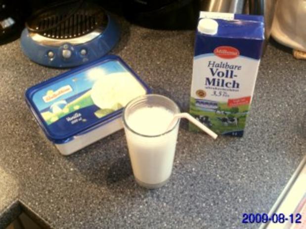 GETRÄNKE:Vanille-Milch-Shake - Rezept