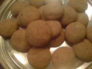 Kekse / Plätzchen - Marzipan-Schoko-Taler - Rezept