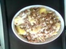 Kartoffeln mit Hackfleischfüllung - Rezept
