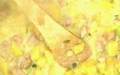 Rezept: Steckrüben-Kartoffelgulasch