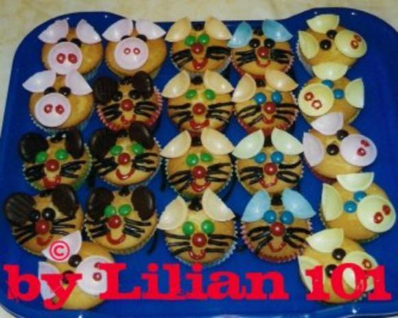 Tierische Muffins - Rezept