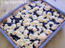 Heidelbeerkuchen mit Zuckerstreuseln - Rezept