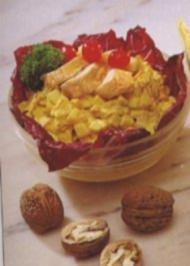 Huhn Currysalat - Rezept