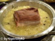 Geselchtes mit Sauerkraut - Rezept