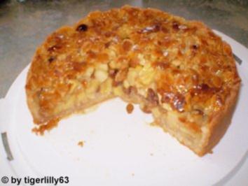 Bayerischer Apfel-Bienenstich - Rezept