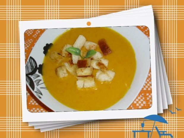 Kürbis-Apfel-Suppe - Rezept