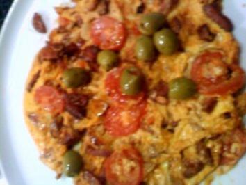 Chorizo-Omelette - Rezept