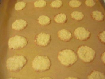 Rezept: knusprige Mandelplätzchen