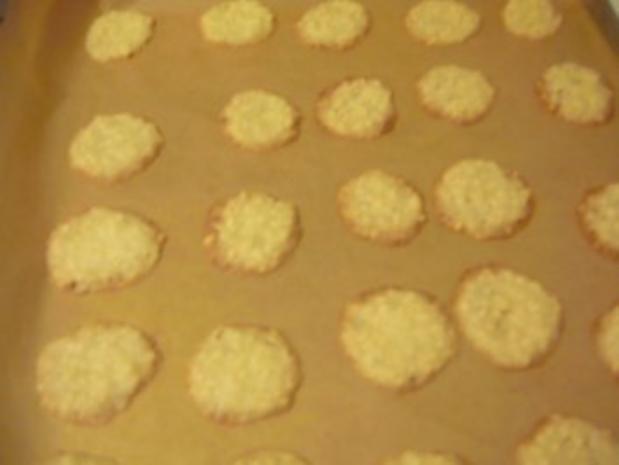 knusprige Mandelplätzchen - Rezept