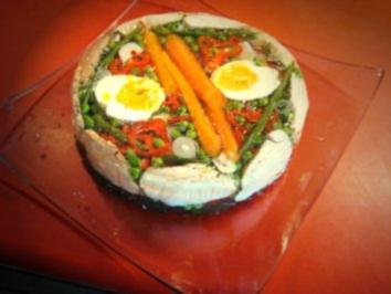 Rezept: Hähnchenfilet-Gemüse-Sülze = mit Fotos !