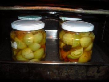 Pickled Green Tomatoes - Rezept