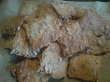 Brot - Knäckebrot - Rezept