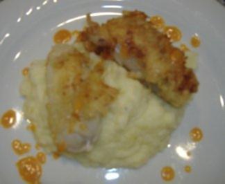 Kartoffel-Fenchel-Pürree mit Seeteufelfilet und Tomaten-Zitronenschaum - Rezept