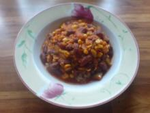 Vegetarisches Chili - Rezept