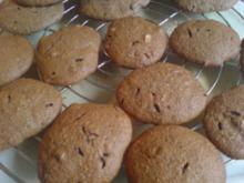 Kekse / Plätzchen -  Lebkuchenkekse - Rezept