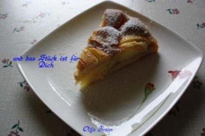 Apfelkuchen, mal ganz einfach - Rezept