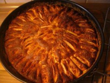 Kuchen --- Apfel-Quark-Kuchen - Rezept