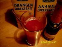 Cocktail: fruchtig-freche Prickelerdbeere - Rezept