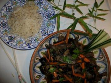 Rezept: Tailändische Leberpfanne