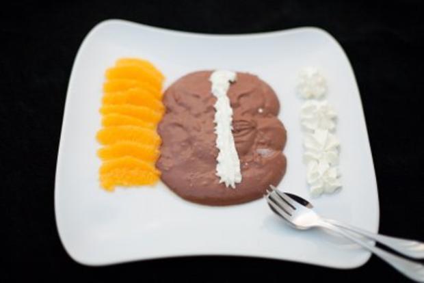 Schokoladencreme mit Ingwer und Orangen - Rezept