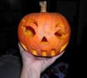 halloween  gamberi con pure' di zucca - Rezept