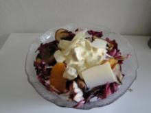 Chiccorée mit Hähnchensalat - Rezept