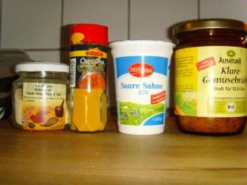 Kürbis / Kohlrabi Suppe - Rezept