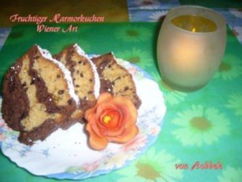 Kuchen: Fruchtiger Marmorkuchen Wiener Art - Rezept