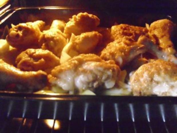 Geschmortes Hühnchen mit Curry - Rezept - Bild Nr. 8