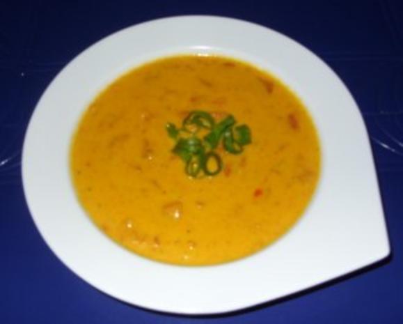 Kürbis-Karotten-Creme-Suppe mit Pfiff - Rezept