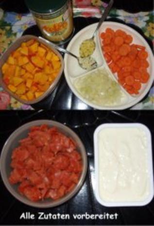 Kürbis-Karotten-Creme-Suppe mit Pfiff - Rezept - Bild Nr. 3