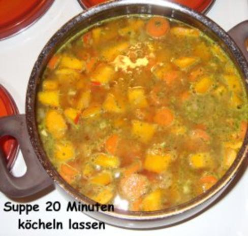 Kürbis-Karotten-Creme-Suppe mit Pfiff - Rezept - Bild Nr. 5