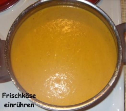 Kürbis-Karotten-Creme-Suppe mit Pfiff - Rezept - Bild Nr. 7