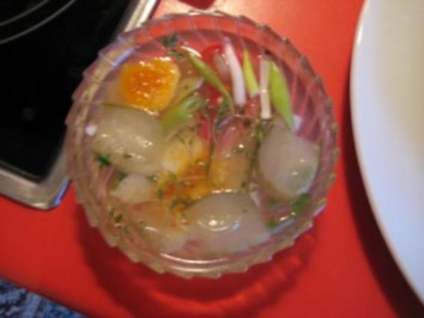 Frühstücksbrötchen mit Camembert überbacken - Rezept - Bild Nr. 4