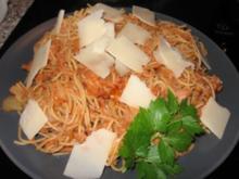 Spaghettini Tonno - Rezept